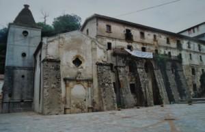 Santuario di Polsi visto da dietro