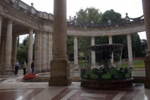 fontana all'interno  Terme Il Tettuccio Montecatini Terme