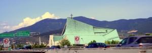 La Chiesa degli automobilisti