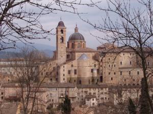 Vista sul palazzo ducale