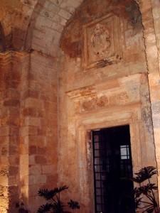 Ingresso del Santuario di S.Maria di Leuca del Belvedere