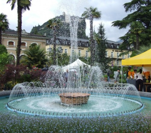 Arco - La fontana di Arco di Trento