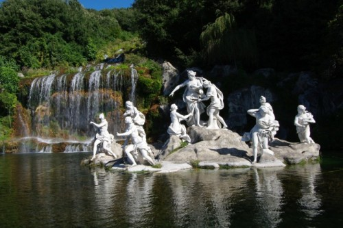Caserta - Reggia Di Caserta - Fontana di Diana e Atteone