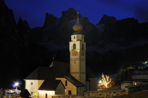 Corvara in Badia - Colfosco - Chiesa parrocchiale di S.Vigilio - Val Badia