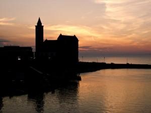 Silhouette della cattedrale