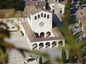 Santuario di S.Rita dalla rocca di Roccaporena