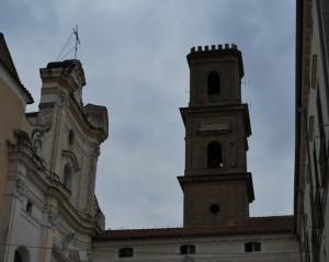 campanile e facciata Duomo di Caiazzo