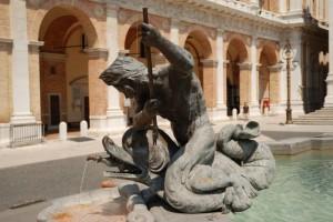 Tritone (fontana della Madonna di Loreto)
