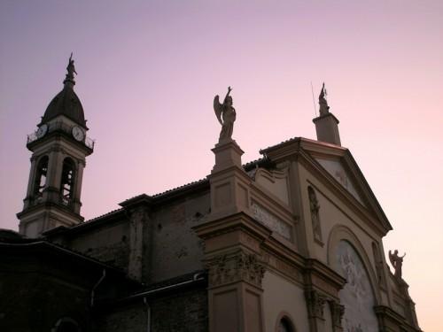 Alessandria - Saluto nel tramonto