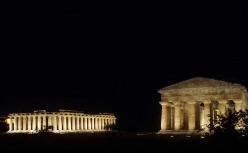Capaccio - Basilica e tempio di Nettuno - Paestum