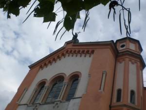 Un tocco nel verde (Chiesa del redentore)