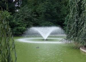 Fontana del parco di Genova