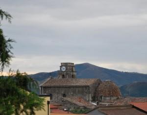 SAN GIOVANNI E PAOLO chiesa campanile con ora