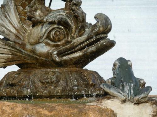 Vidor - Fontana in piazza a Vidor