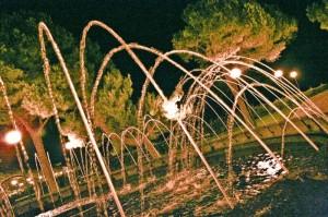 Zampilli nella notte