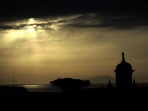 Chiesa dei Cappuccini al tramonto
