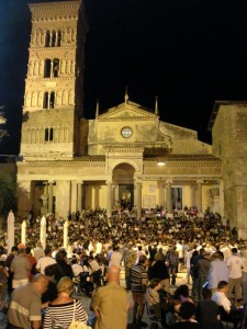 Estrazione della lotteria della Chiesa di Terracina
