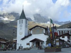 La Chiesa di Cervinia