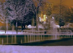 Fontana Giardini Diaz Macerata