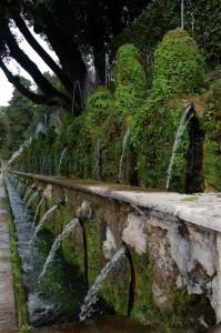 le cento fontane…(Villa d'Este)