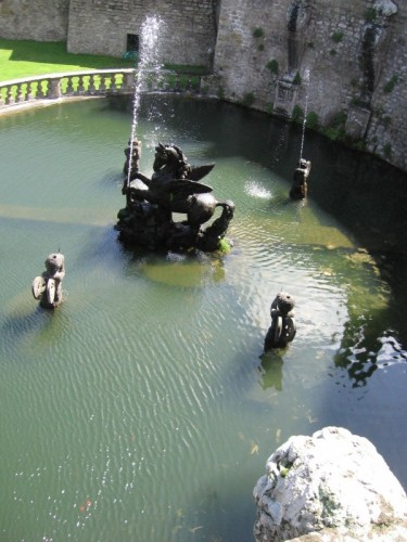 Viterbo - Fontana del Pegaso