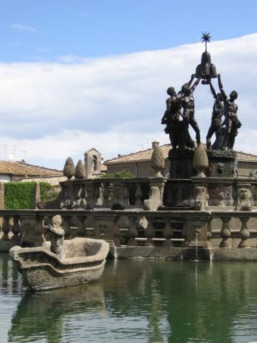 Viterbo - Giochi d'acqua rinascimentali
