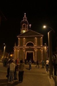 Chiesa Ciserano Night