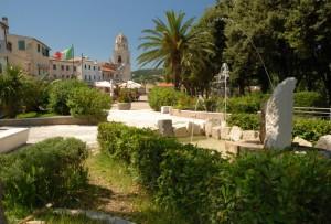 Fontana nelle piazzetta di Sirolo