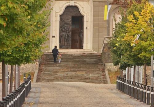 Sotto il Monte Giovanni XXIII - Tornando a casa.........date una carezza ai vostri bambini