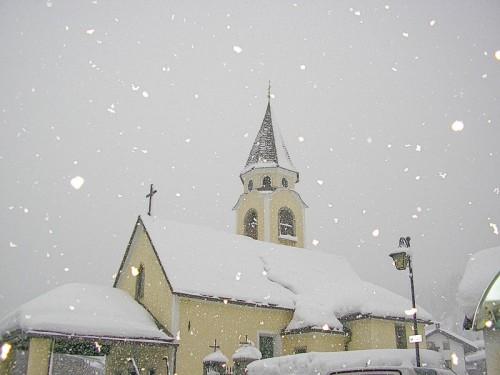 Sappada - Sotto la neve