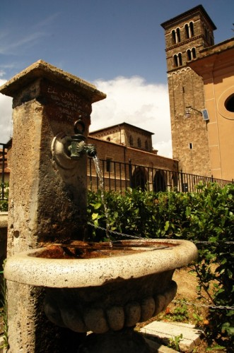 Rieti - Fontanella dei giardinetti