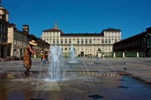 Fontane piazza Castello