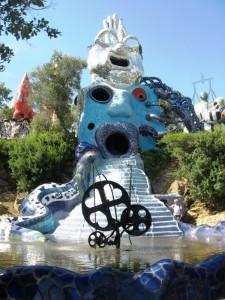 La fontana dei tarocchi