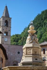 Fontana e San Pietro