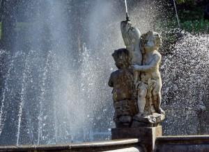 Zampilli a Villa Taranto