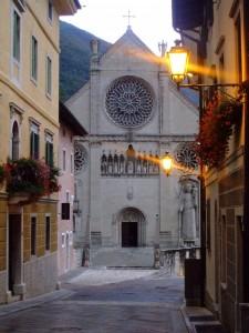 Via Bini e il Duomo