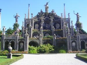 Altare con fontana all'Isola Bella