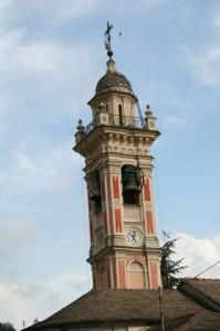 Campanile in val Fontanabuona