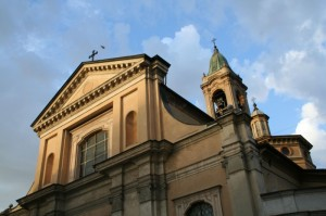 La Basilica al tramonto