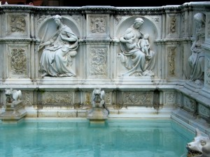 piazza del campo…fontana