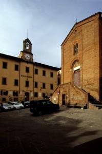 Castelfiorentino-Chiesa dei Santi Lorenzo e Leonardo