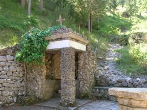 fonte miracolosa presso Santuario dell'Addolorata di Castelpetroso