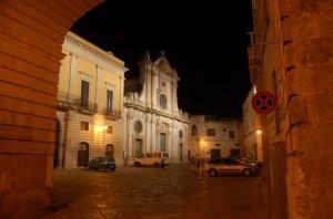Nardò - Il Duomo by night