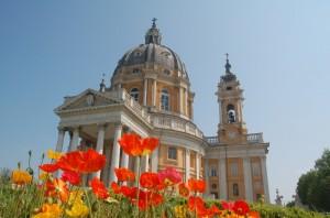 La Basilica di Superga tra i colori …