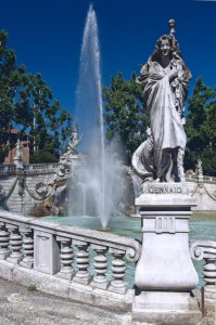 Torino - Fontana delle quattro stagioni - Gennaio