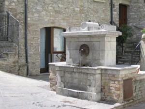 Una tranquilla fontana lucana