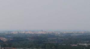 capua e le sue chiese viste dalla Basilica di Sant'Angelo in Formis