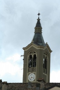 Il campanile del paese