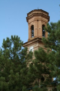 Il campanile della Chiesa di Ciano