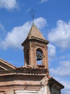 Vecchio campanile in piazza Horszowski